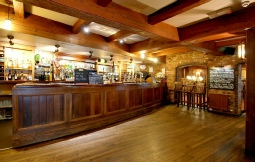 Picture of the bar. Mill on Exe, Exeter.