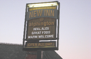 New Inn pub Sign