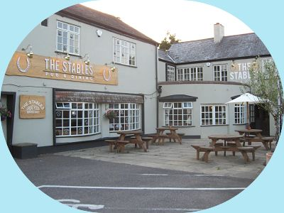 Front View, The Stables. Pub