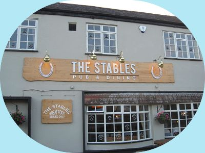 Front View 2 The Stables pub.